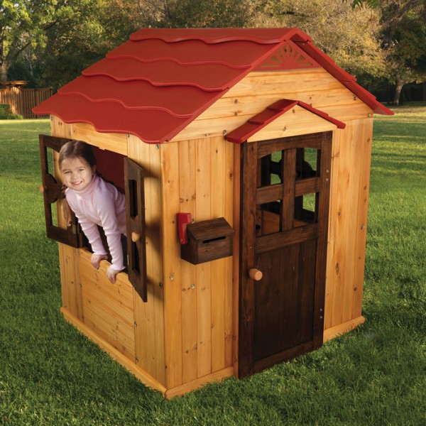 Домик для детей из дерева своими руками фото
